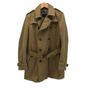 Banana Republic Mens Trench Coat Beige Breasted M